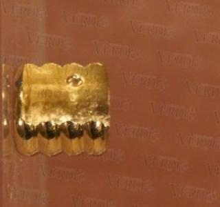 Кронштейн боковой 16 мм глянцевое золото