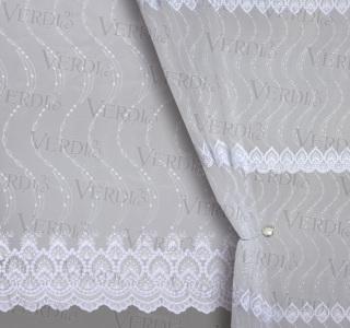 Сетка вышивка 81585
