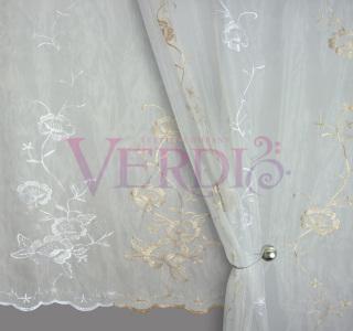 Органза вышивка Венера