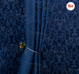 Портьера жаккард Ивона (рисунок по ширине)