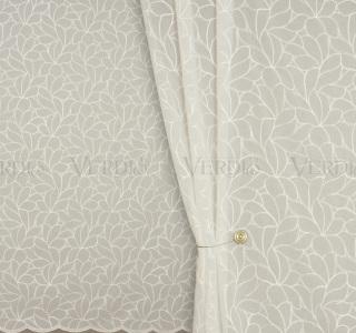 Имитация льна с вышивкой Альта
