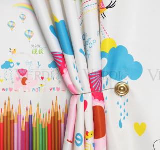 Портьера Цветной карандаш