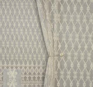 Сетка вышивка с кордовой нитью 913628