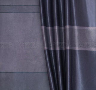 Блэкаут двусторонний с рисунком Павлина