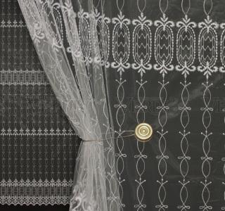 Сетка вышивка с рисунком 9006 2,9м
