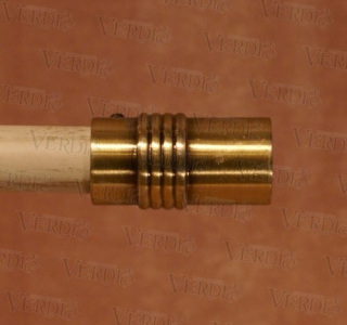Наконечник Цилиндр d-16 мм старое золото