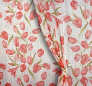Вуаль печать Фанфан-тюльпан
