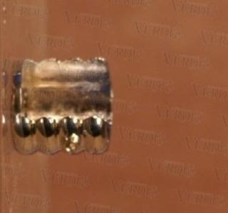 Кронштейн боковой 16 мм глянцевое серебро