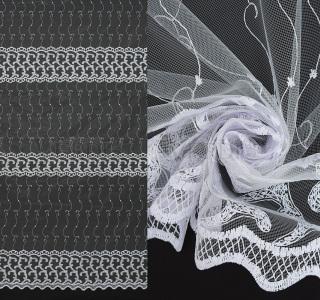 Сетка вышивка с рисунком 9027 2,9м