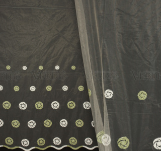Сетка вышивка 24047  2,8м