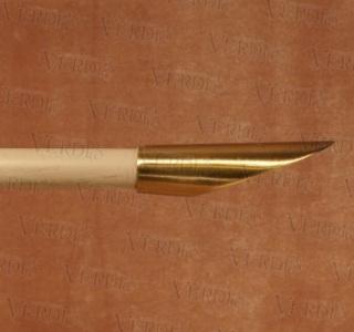 Наконечник Срез d-16 мм старое золото