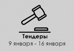 ТЕНДЕРЫ ПО ШТОРАМ. 9 января - 16 января